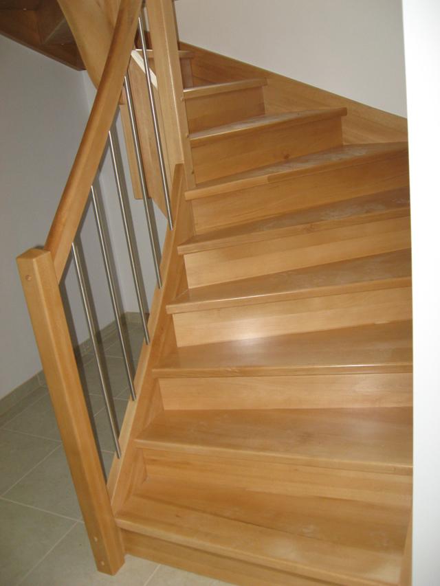 stopnice z inox palicami